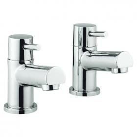 Adora Globe Basin Pillar Taps