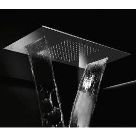 Photo of Crosswater Rectangular Chromatherapy Tempation Fixed Shower Head