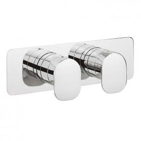 Crosswater Kelly Hoppen Zero 2 Landscape Shower Valve & 2 Way Diverter