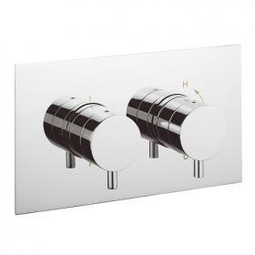 Crosswater Kai Lever Thermostatic Shower Valve 2 Way Diverter