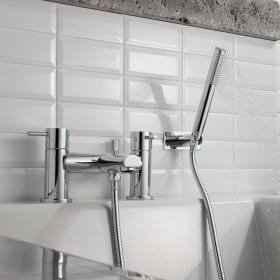 Crosswater Kai Lever Bath Shower Mixer With Kit