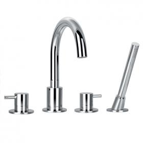Flova Levo 4 Tap Hole Bath Shower Mixer