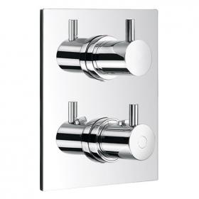 Flova Levo Thermostatic Shower Valve 3 Way Diverter