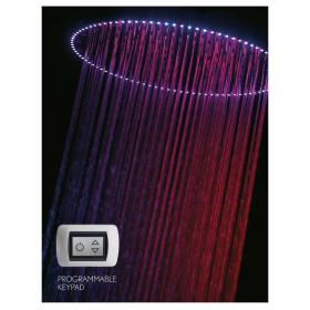 Crosswater Rio Spectrum 400mm Shower Head with Light