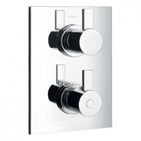 Flova STR8 Thermostatic Shower Valve with 3 Way Diverter