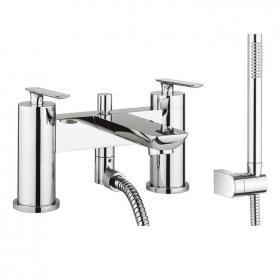 Crosswater Silk Bath Shower Mixer with Kit
