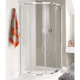Simpsons Supreme 1200 x 800mm Twin Quadrant Shower & Tray