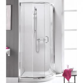 Simpsons Supreme 900mm Single Door Quadrant Shower & Tray