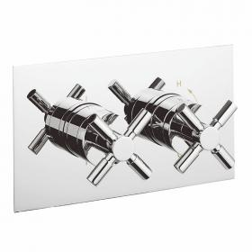 Photo of Crosswater Totti Thermostatic Shower Valve 2 Way Diverter
