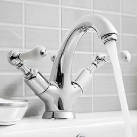 Traditional Basin Mixer Taps