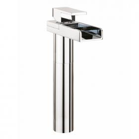 Crosswater Water Square Basin Tall Monobloc