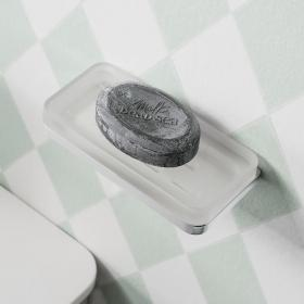 Photo of Crosswater Wisp Soap Holder with Double Wall Holder
