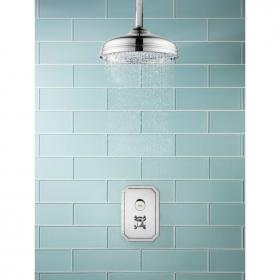Crosswater Dial Shower Valve 1 Control with Belgravia Trim & Shower Head
