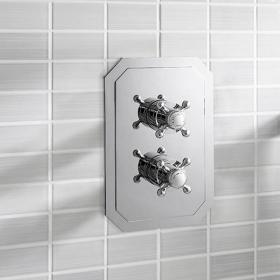 Crosswater Belgravia Crosshead 1500 Shower Valve 2 Way Diverter
