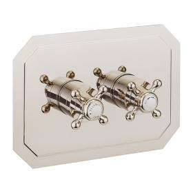 Crosswater Belgravia Crosshead Nickel 1501 Shower Valve with 2 Way Diverter