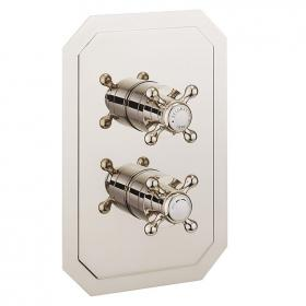 Crosswater Belgravia Crosshead Nickel 2500 Diverter Shower Valve