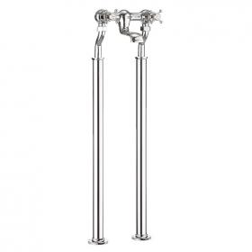Crosswater Belgravia Crosshead Bath Filler with Bath Legs