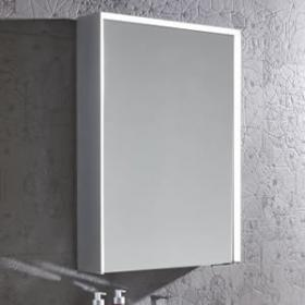 Mirrored Bathroom Cabinets with Lights : bathroom mirrored cabinets with lights - Cheerinfomania.Com