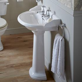 Heritage Dorchester Medium Basin and Pedestal