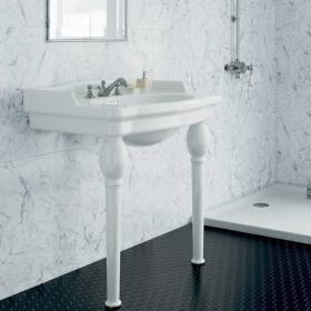 Heritage Victoria Single Console Basin & Legs