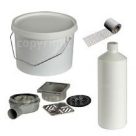 Wetroom Installation Components