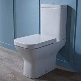 Close Coupled Toilets - Open Back