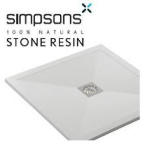Simpsons Stone Resin Shower Trays