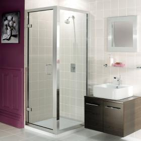Simpsons Classic Hinged Shower Door & Side Panel
