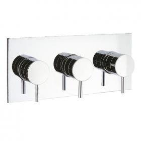 Crosswater Elite Thermostatic Shower Valve - 3 Way Diverter