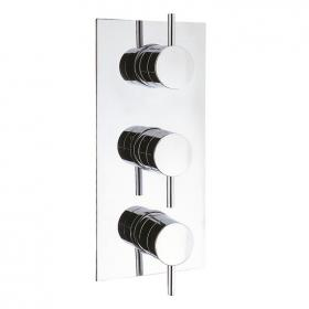 Crosswater Elite Thermostatic Shower Valve With 3 Way Diverter