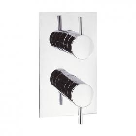 Crosswater Elite Thermostatic Twin Shower Valve