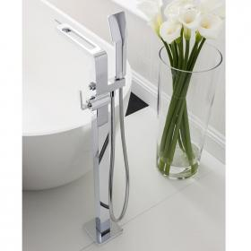 Crosswater Kelly Hoppen Zero 1 Bath Shower Mixer with Shower Kit