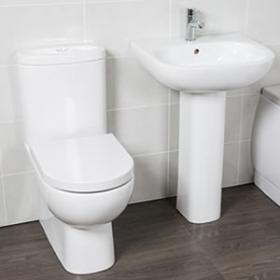 Contemporary Toilet And Basin Sets