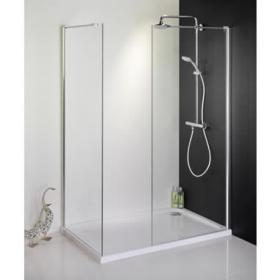 1685 x 700 Walk In Shower Enclosure & Tray