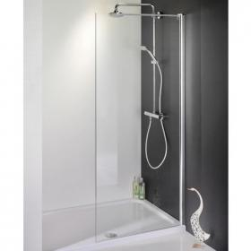 1700 X 800 Walk In Shower Enclosure & Tray - Recess
