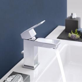 Grohe Eurocube Basin Mixer with Pop up Waste