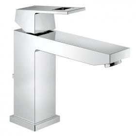 Grohe Eurocube Mid Height Basin Mixer with Pop up Waste