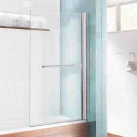 Simpsons Design Single Bath Screen With Rail