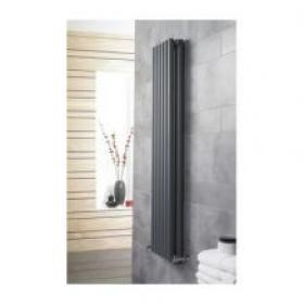 Hudson Reed Savy Anthracite 1800mm  Double Panel Radiator