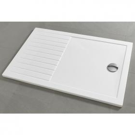 1700 x 800 Walk In Shower Tray & Waste