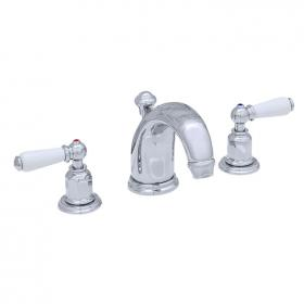 Perrin & Rowe Traditional Lever High Neck Basin Mixer