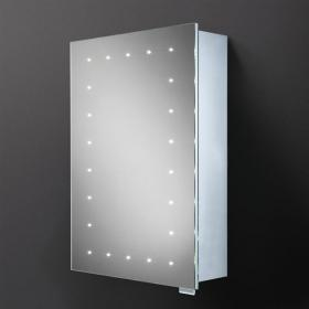 HIB Vogue LED Demisting Aluminium Bathroom Cabinet
