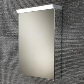 HIB Spectrum LED Aluminium Bathroom Cabinet with Mirror Sides