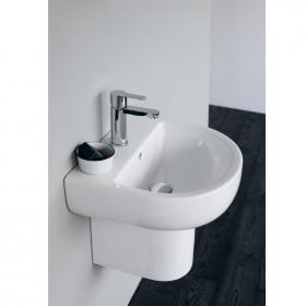 Britton Compact 450mm Basin & Semi Pedestal