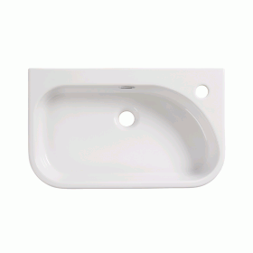 Roper Rhodes Accent 550mm Slimline Semi Countertop Basin