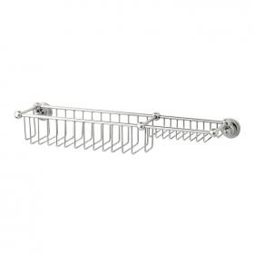 Photo of Perrin & Rowe Traditional 510mm Bottle Basket & Soap Tray
