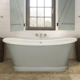 Photo of BC Designs 1700mm Acrylic Freestanding Boat Bath