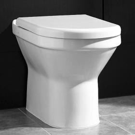 Vitra S50 Back To Wall WC Pan & Seat