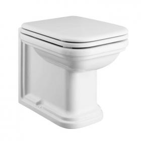 Bauhaus Waldorf Back To Wall 55 WC with Soft Close Seat