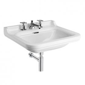 Bauhaus Waldorf 60 Wall Mounted Three Tap Hole Basin